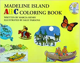 madeline island abc coloring book marcia henry sally