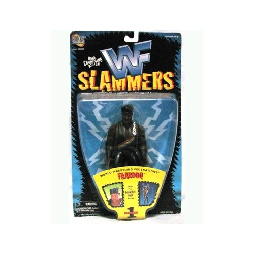 WWF: Slammers Series 1 Faarooq 5 inch Action Figure