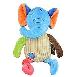 Heads Up For Tails Elephant Plush Dog Toy