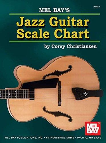 Mel Bay Jazz Guitar Scale Chart, by Corey Christiansen