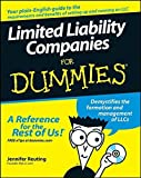 img - for Limited Liability Companies For Dummies by Reuting, Jennifer (2007) Paperback book / textbook / text book