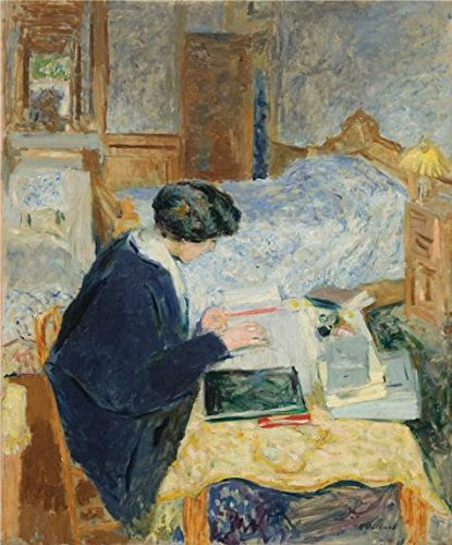 Oil Painting 'Lucy Hessel Reading,1913 By Edouard Vuillard' Printing On Perfect Effect Canvas , 30x36 Inch / 76x92 Cm ,the Best Garage Decoration And Home Artwork And Gifts Is This Best Price Art Decorative Prints On Canvas (22 Rat Shot Bullets compare prices)