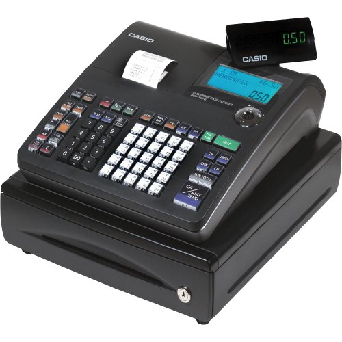 Casio PCR-T470 25-Department Cash Register with Thermal Printer BlackB001D6Z7QW