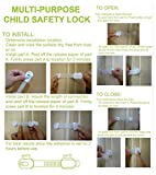 Child-Safety-Locks-By-Kinder-Kit-Pack-Of-6-Safety-Latches-12-Outlet-Covers-No-Tools-Adjustable-Size-Adhesive-Furniture-Latches-For-Furniture-Toilet-SeaillintMore