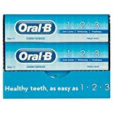 12 x ORAL-B toothpaste 1-2-3 100ml