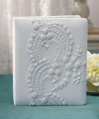 Beverly-Clark-Venetian-Elegance-Collection-Wedding-Scrap-Book-White