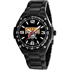 Game Time Unisex MLB-WAR-PIT Warrior Pittsburgh Pirates Analog 3-Hand Watch by Game Time