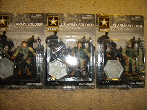 Army Strong Officially Licensed US Army Solder Figure with Weapons and Accessories, Each Figure Sold Separately, Styles May Vary - 1