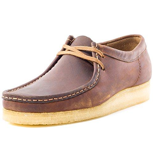 clarks-originals-wallabee-mens-suede-casual-shoes-dark-brown-46-eu