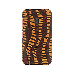 Mobicture Cheetah Tribal Wave Premium Printed Case For Nokia Lumia 530