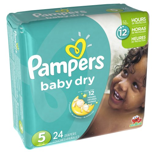 Pampers Baby Dry Diapers Size 5 Jumbo Pack, 24 ct - 1