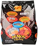 Hersheys Halloween Assortment (Reeses, Kit Kat, Hersheys, Almond Joy Demon Treats Gift Bag), 48.05-Ounce Bag
