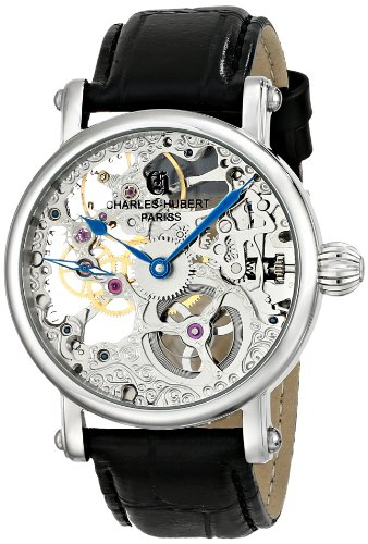 Charles-Hubert, Paris Men's 3887-B Premium Collection Stainless Steel Mechanical Watch