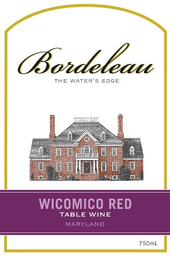 NV Bordeleau Wicomico Red Table Wine 750 mL (Red Table Wine compare prices)