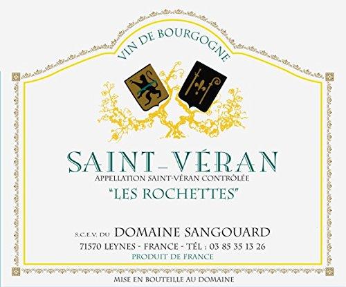 2011 Domaine Sangouard: Saint-Veran Les Rochettes 750 Ml