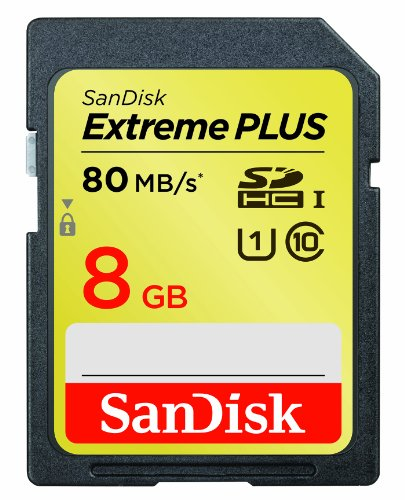 SanDisk-SDSDXS-008G-X46-8GB-Extreme-PLUS-80MBs-Class-10-SDHC-UHS-I-Card