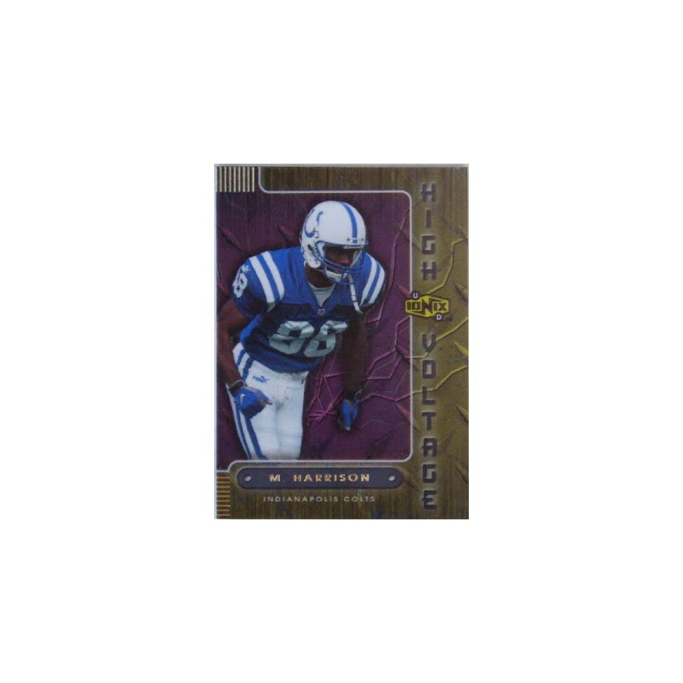 Marvin Harrison 2000 Ionix High Voltage Card #HV7