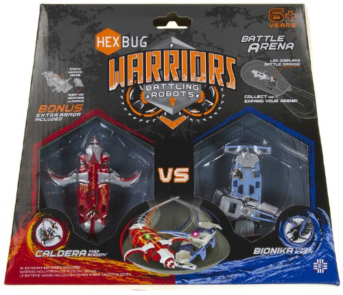 Hexbug Warriors Battling Robots Battle Arena: