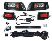 DELUXE Street Package Light Kit for EZGO TXT Golf Cart 1996 & Up