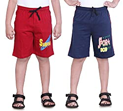 DONGLI PRINTED BOYS SPORTS (PACK OF 2)