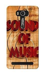 CimaCase Sound Of Music Designer 3D Printed Case Cover For Asus Zenfone 2 Laser ZE550KL