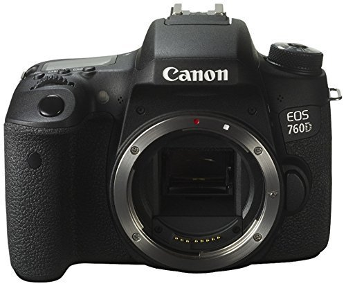 Canon EOS 760D/Rebel T6S/EOS 8000D (24.7 MP, 3-inch LCD) (Body Only) - International Version (No Warranty)