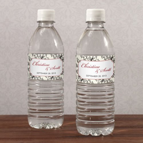 Water Bottle Labels Template