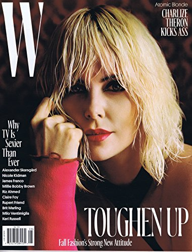 W Magazine August 2017 大きい表紙画像