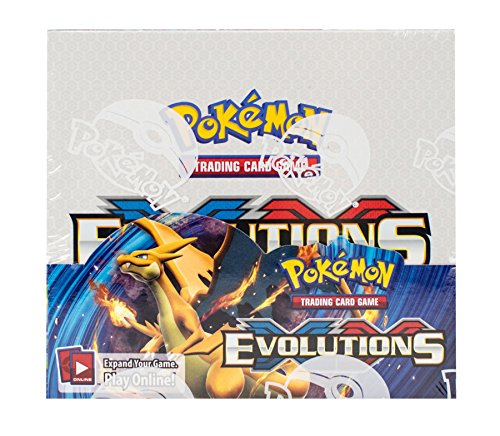 Pokemon TCG Card Game XY Evolutions Factory Sealed Booster Box - 36 packs of 10 cards each (Trading Card Box Sealed compare prices)
