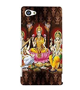 PRINTVISA Religious Diwali Case Cover for Sony Xperia Z5 Compact::Sony Xperia Z5 Mini