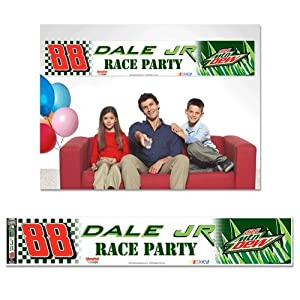 Dale Earnhardt Jr. Official NASCAR 12x65 Tailgate Party Banner by Wincraft by NASCAR