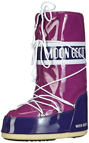 Moon Boot Vinil, Stivali, Unisex - adulto, Multicolore (Ciclamino/Viola), 23/26