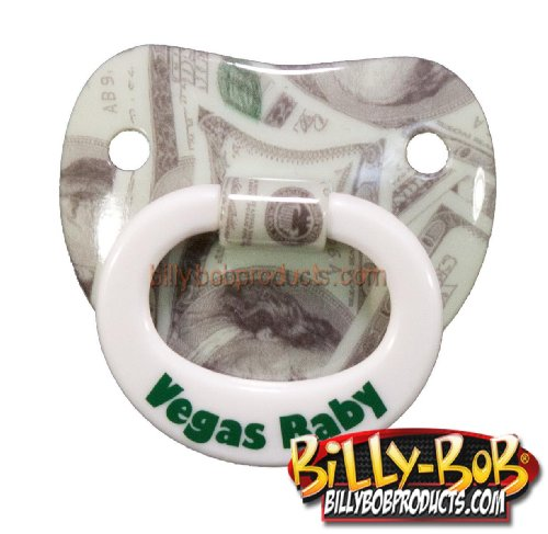 Billy Bob Vegas Baby Pacifier front-723991