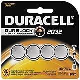 Battery, 2032, Lithium, 3V, PK4