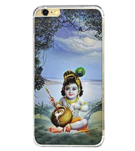 Bhagwan Krishna 2D Hard Polycarbonate Designer Back Case Cover for Apple iPhone 6S