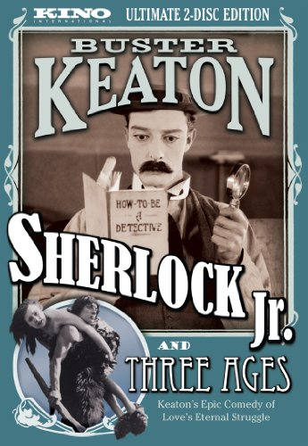 Sherlock Jr & Three Ages [DVD] [1923] [Region 1] [US Import] [NTSC]