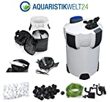 Aquaristikwelt24 Aquarium Außenfilter Filter 1400 L