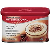 Maxwell House International Coffee Pumpkin Spice Latte, 9-Ounce Cans (Pack of 4)