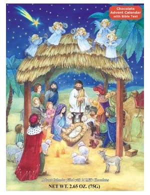 Advent Calendar - Nativity Scene (Special Chocolate Series)