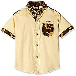 Seals Boys' Shirt (AM8116_1_BEIGE_3)