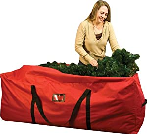 #!Cheap Santas Bags Rolling Tree Storage Duffel, for 6 to 9-Foot Trees
