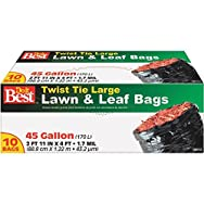Presto Products 708151 Yard and Leaf Bag-10CT 45GAL LAWN&LEAF BAG