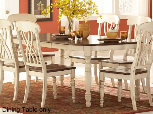 Dining Table Of Ohana Collection By Homelegance Nail
