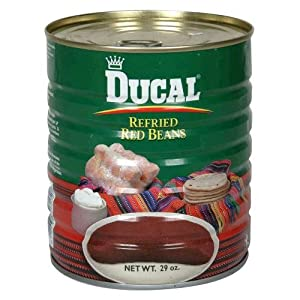 Amazon.com : Ducal Bean Refried Red 29 OZ (Pack of 12) : Canned Beans