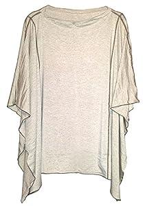 Solana Dria Nursing Cover (Breastfeeding Poncho with Organic Modal Fabric)