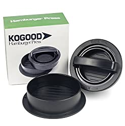 Kogood Hamburger Press - Best Patty Maker - 3-in-1 Stuffed Burger Press - #1 In BBQ Grill Accessories - Make A Chef Meal By Yourself