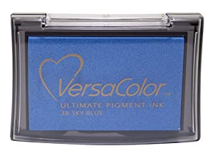 Tsukineko Full-Size VersaColor Ultimate Pigment Inkpad, Sky Blue by Tsukineko
