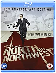 North By Northwest [Blu-ray] [Import anglais]