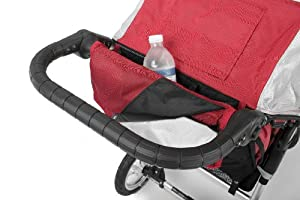Advance Mobility Liberty Handlebar Console, Red/Silver