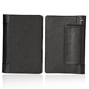 """ProElite PU Flip case cover for iBall Slide Brace X1 10.1"""" Tablet (Black)"""